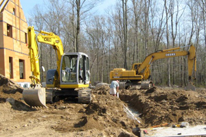 excavating, saratoga, clifton park